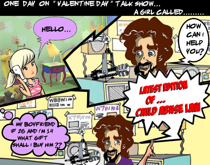 valentine day, girl, talk show, giggles, gigglesinclick, jokes