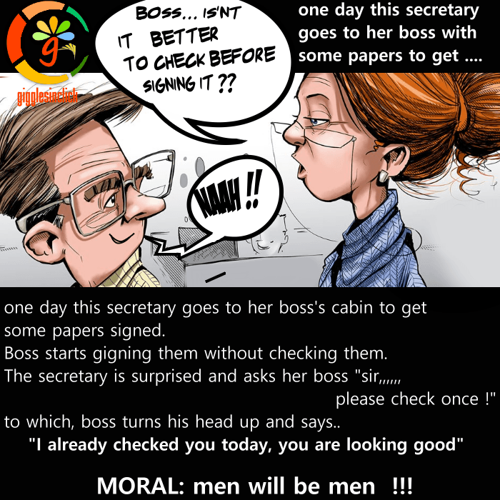 secretary to boss, boss, check, men, cabin, papers, giggles, gigglesinclick, jokes, lol, funny images, humor