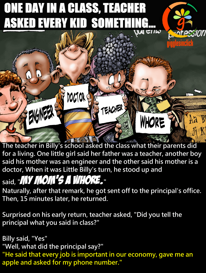 parents, profession, teacher, kids, classroom, principal, giggles, gigglesinclick.com, jokes, lol, funny images