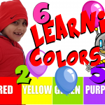 LEARNING COLORS & COUNTING WITH BALLOONS AND Skip To My Lou song | COLORCOUNTFUN | ARIAN