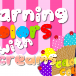 ice-cream factory, learn colors, red, blue, green, yellow, pink, orange, soft music for children, arian, Kids soft playful music, Nursery Rhyme, kids, colorcountfun, giggles, learn, educational, funny, animals, wild animals, park, ice-cream, Skip to my Lou song