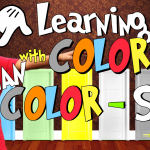 Kids Color song | animated | kids | nursery rhymes | COLORCOUNTFUN