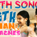 Nursery Rhymes | Bath Song with little AGNES & Arian, fun with bubbles